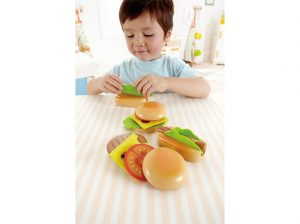 hamburgers en hotdog, hape,