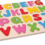 Alfabet puzzel – hoofdletters