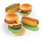 Hamburgers en hotdogs