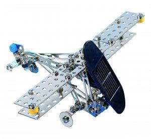 Eitech C72 contructieset Vliegtuig/Helicopter met zonnepaneel