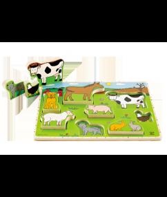 Hape Puzzel boerderijdieren