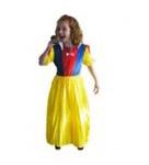 Sneeuwwitje jurk  Maat 104 tot 116