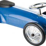 Metalen rally auto