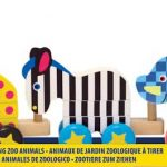 Melissa & Doug – Pull-Along Zoo Animals